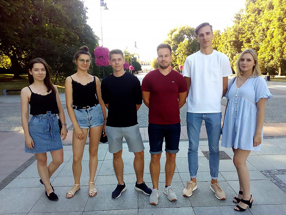 studenci Wydziału Informatyki