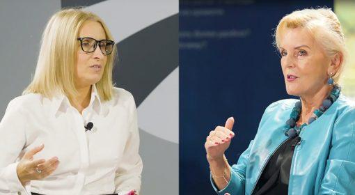 Magdalena Gołaszewska i prof. Ostrowska