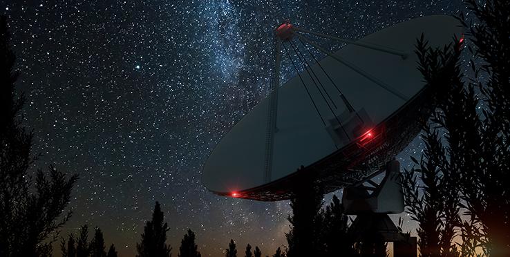 Zdjęcie teleskopu