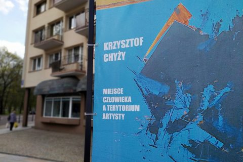 Krzysztof Chyży – Miejsce człowieka a terytorium artysty, fot. Jerzy Doroszkiewicz