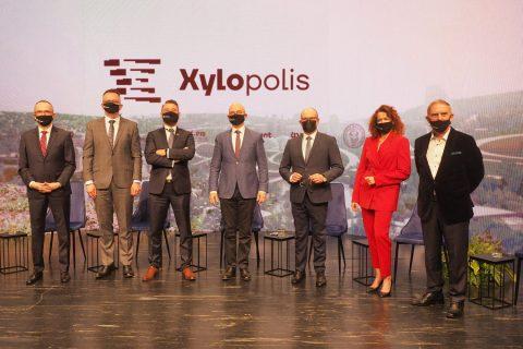 Fotorelacja z konferencji dotyczącej wystawy Xylopolis – prezentacji Województwa Podlaskiego na EXPO 2020 w Dubaju; fot. Jerzy Doroszkiewicz