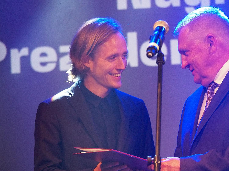 Bartosz Bielenia - Nagroda Artystyczna Prezydenta Białegostoku 2020, fot. Jerzy Doroszkiewicz