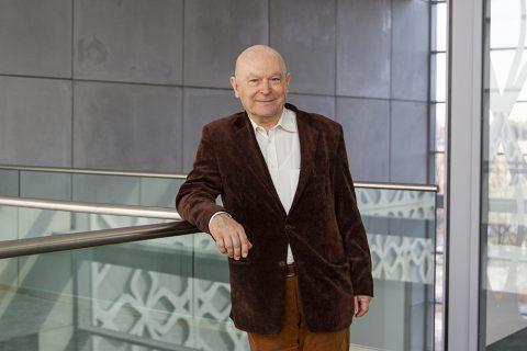 Prof. dr hab. Włodzimierz Lewandowski – kierownik grantów NCN realizowanych w Katedrze Chemii, Biologii i Biotechnologii, fot. Gabriela Kościuk