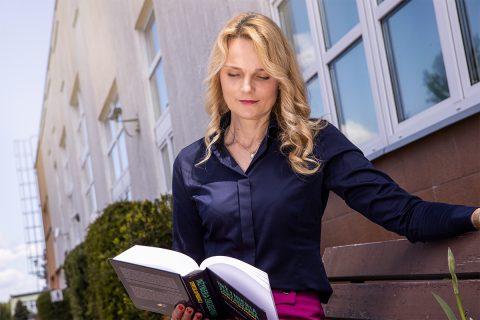 dr hab. inż. Katarzyna Halicka, prof. PB, Dziekan Wydziału Inżynierii Zarządzania Politechniki Białostockiej