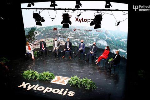 Konferencja dotyczącej wystawy Xylopolis – prezentacji Województwa Podlaskiego na EXPO 2020 w Dubaju; fot. Paweł Jankowski
