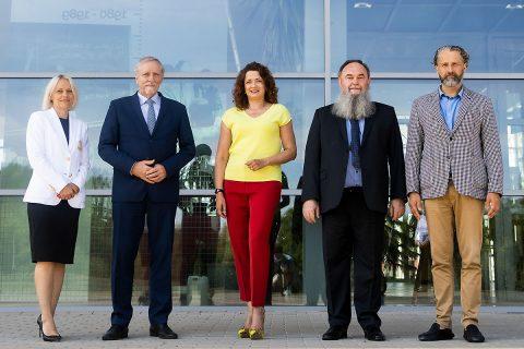 Konferencja prasowa dot. wizyty przedstawicieli NCBiR; fot. P. Jankowski