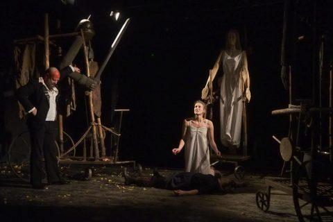 Teatr Wierszalin - Ofiara Wilgefortis, fot. Jerzy Doroszkiewicz